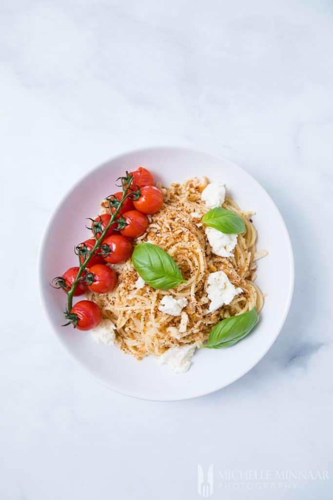 Mozzarella Pasta Tomato