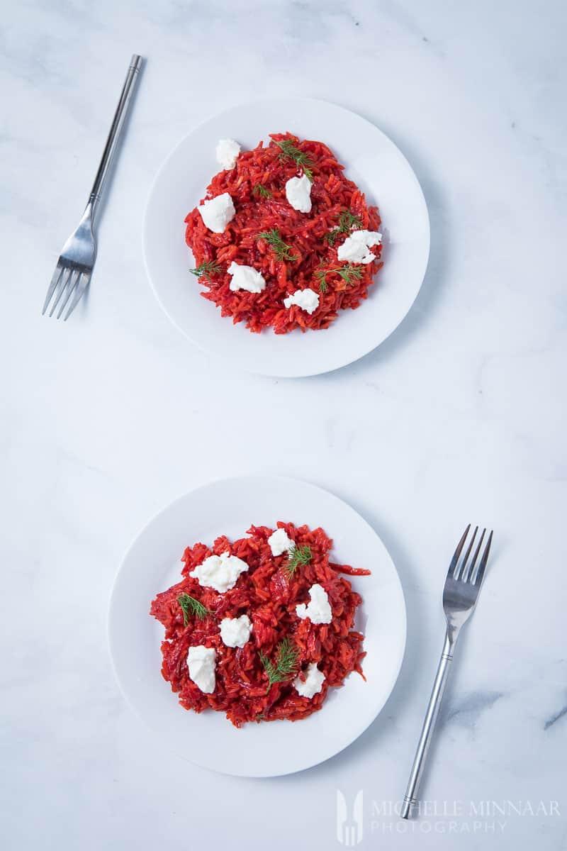 Beetroot Rice Vegan