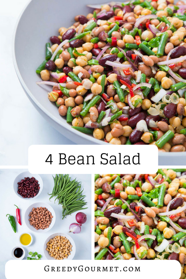 4 bean salad pin