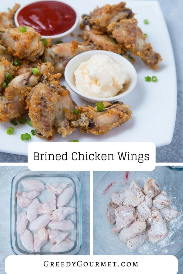 Brined Chicken Wings