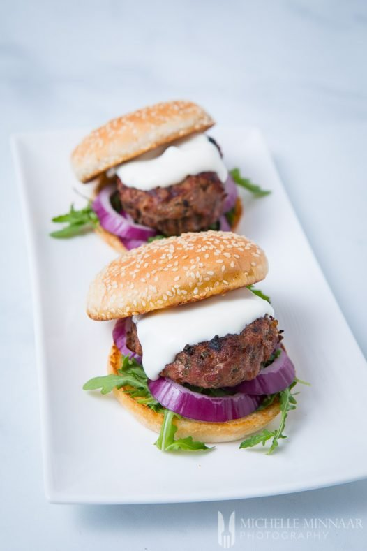 Lamb Burgers Minted