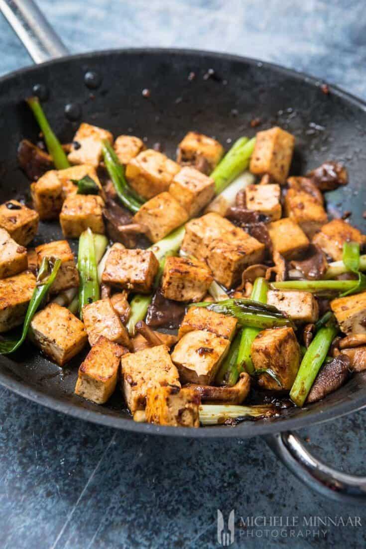 Tofu In Black Bean Sauce