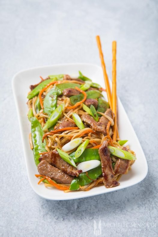 Chowmein Beef
