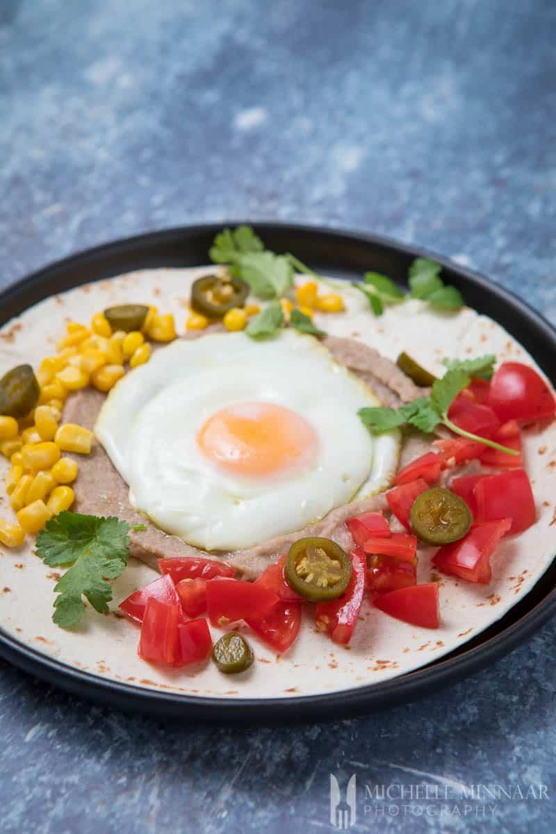 Egg Tomato CornWrap