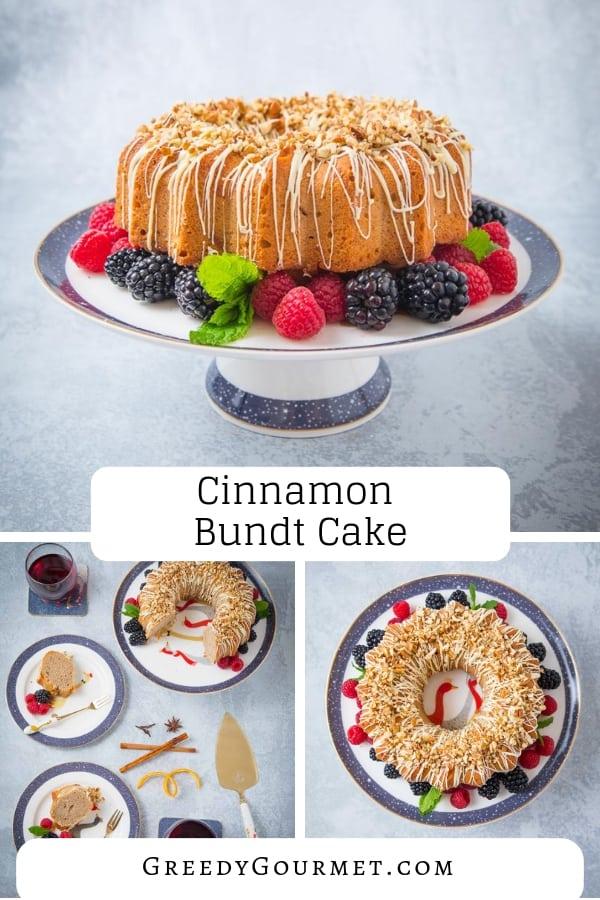 cinnamon bundt cake pin