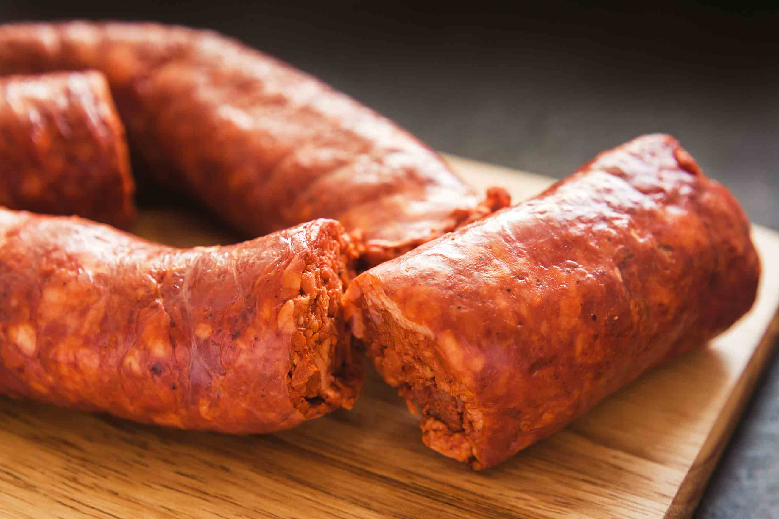 Red Mexican sausage