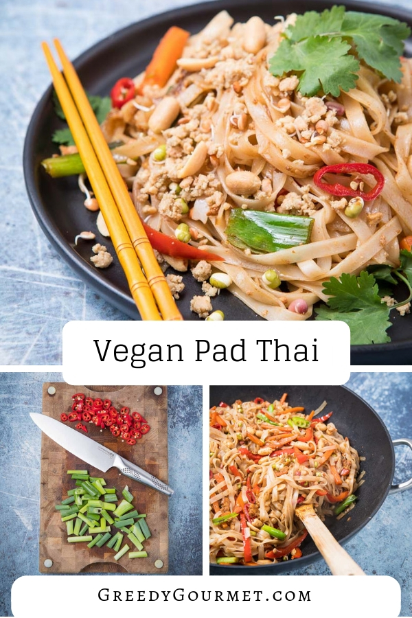 Replicate a traditional pad Thai recipe and make this eggless, no fish sauce vegan pad Thai instead. It's very easy to make and has amazing Thai flavours.#thaifood #padthai