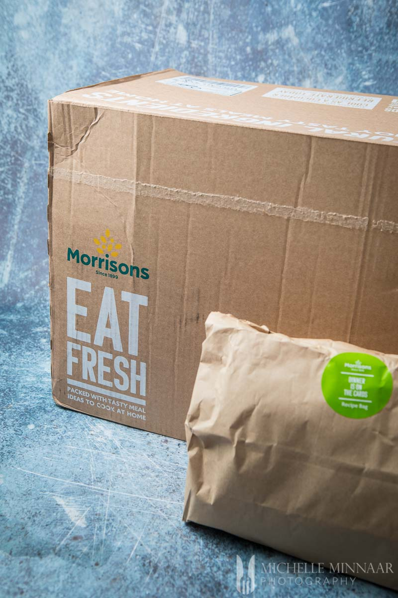Two boxes of Morrisons east Fresh