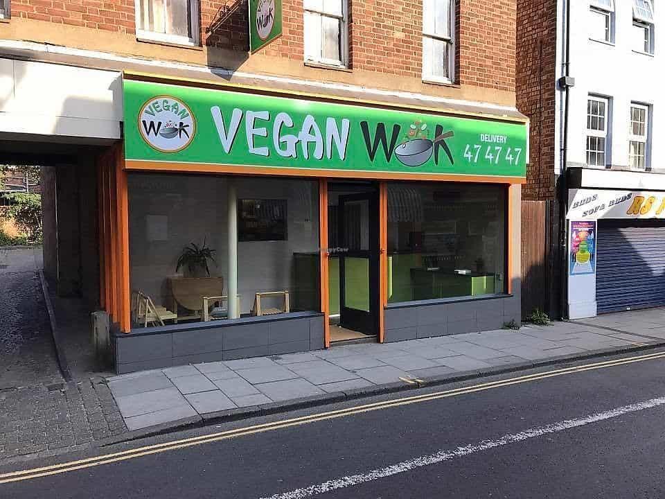The exterior of vegan wok
