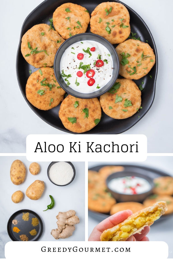 Aloo ki kachori is a traditional Indian and Pakistani recipe. Popular as street food and as a starter. Serve with a tangy chutney or a cooling raita.