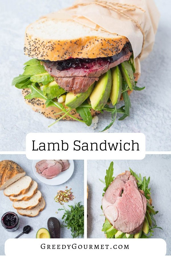 If you've made roast lamb but don't know what to do with the leftovers, then make this easy leftover lamb sandwich recipe. This sandwich is next-level!