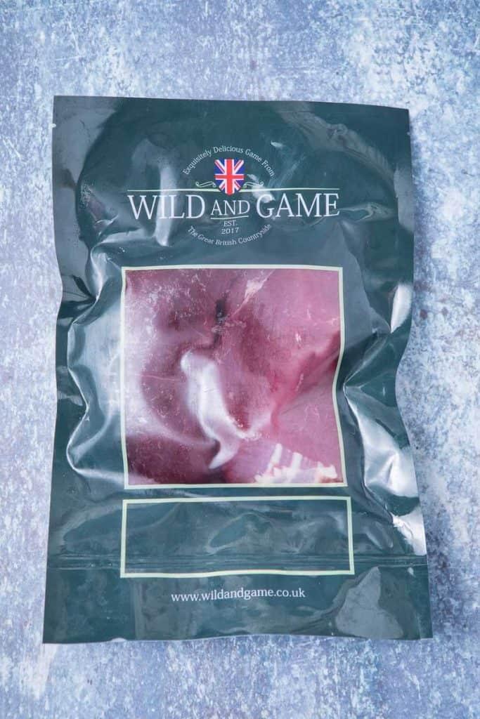 A bag of venison