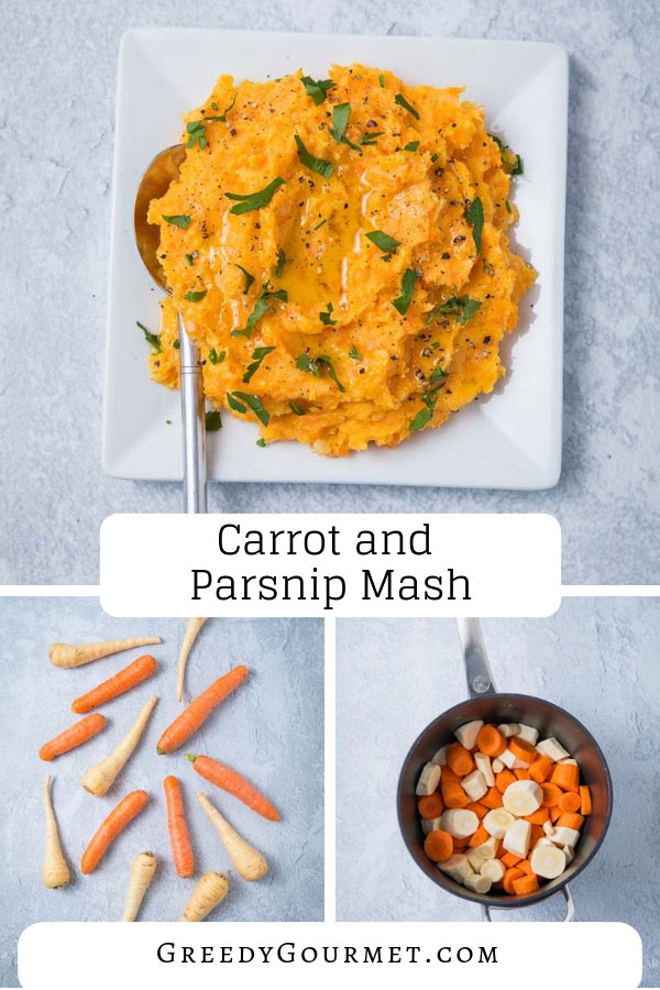 Make this delicious and healthy carrot and parsnip mash. It is completely vegan and very low on calories. Read more about different variations of this mash.