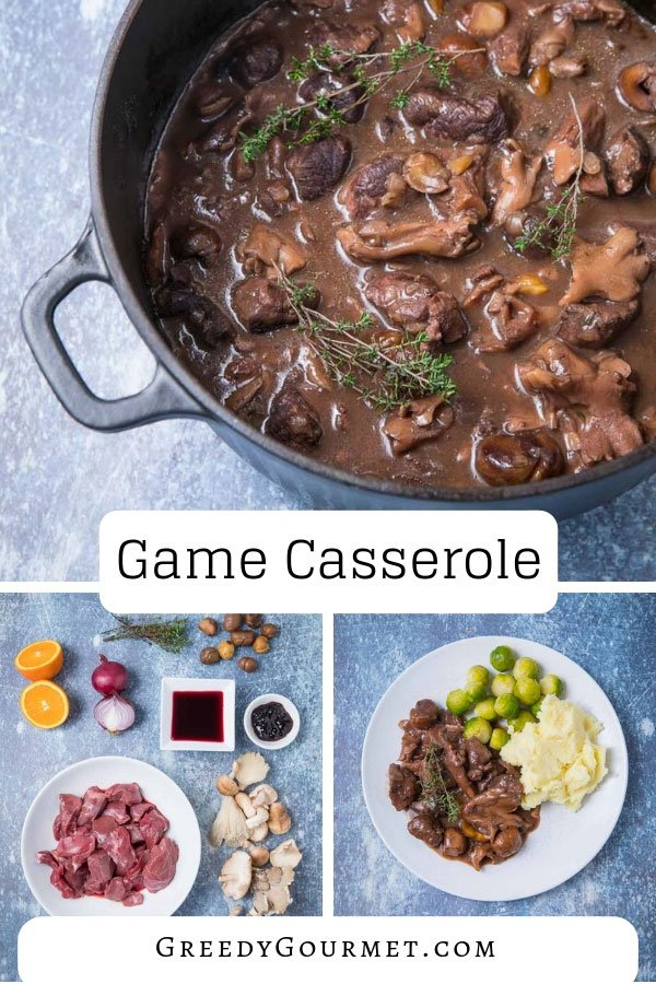 I hope you've saved your appetite because this game casserole recipe is extremely delicious. It calls for mixed game meat, mushrooms, blackcurrants & more.