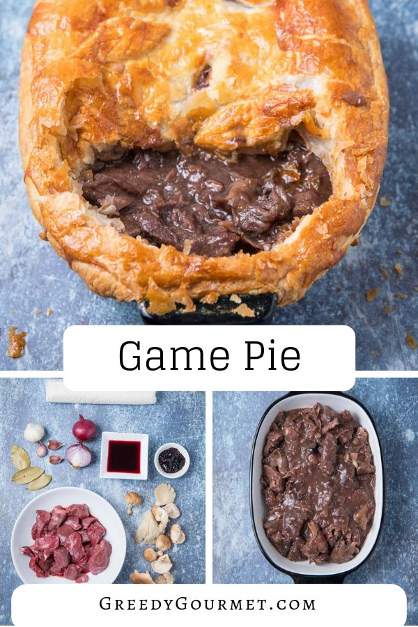 Combine ingredients like mushrooms, port, blackcurrant jelly and mixed game meat to make the ultimate game pie. Serve with a lovely glass of heavy red wine.