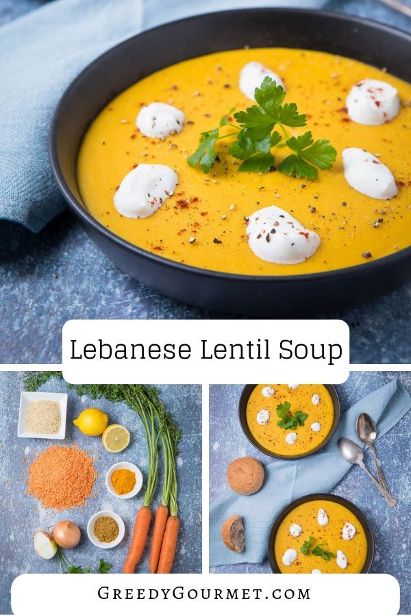 This Lebanese lentil soup has the authentic flavours of the Middle East in every spoonful. You'll need lentils, carrots, turmeric, cumin, lemon and more.