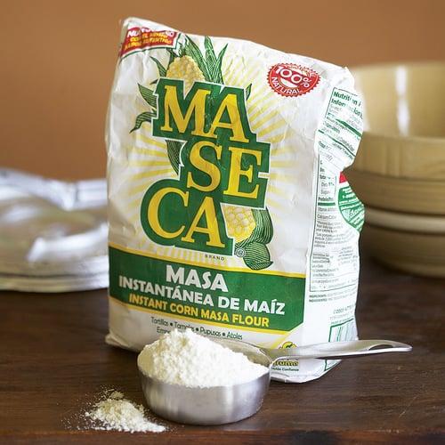 A bag of mexican flour