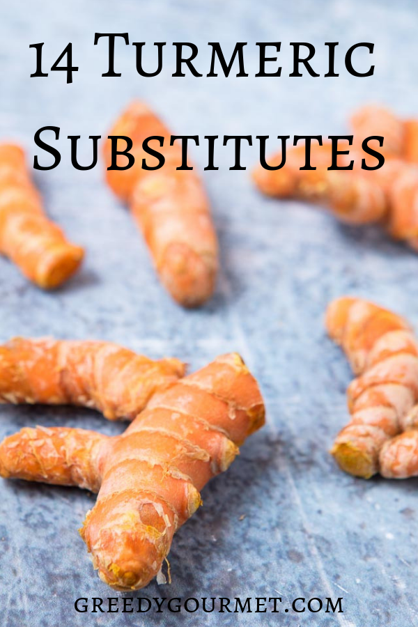 Read all about these best 14 turmeric substitutes for ground turmeric used in cooking (curries) as well as fresh turmeric (alternatives for inflammation).