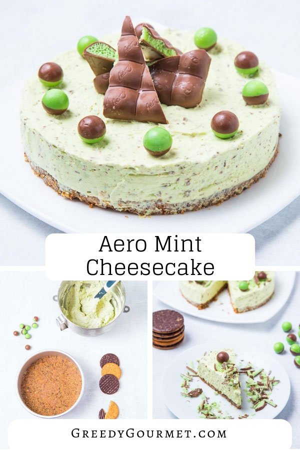 Try your hand at this amazing Aero Mint Cheesecake. It is made up of the humble Aero Mint Chocolate bar. Hence, you can also use other alternative flavours.