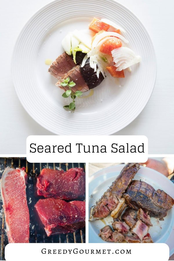 Replicate this easy seared tuna salad recipe at home and serve your family a healthy gourmet meal. Enjoy cooking with fresh tuna & make the salad your own.