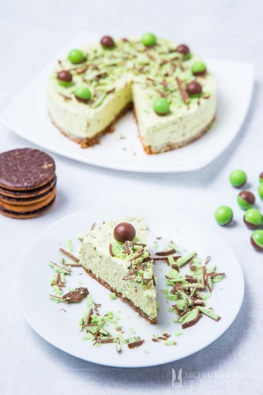 Mint Cheesecake