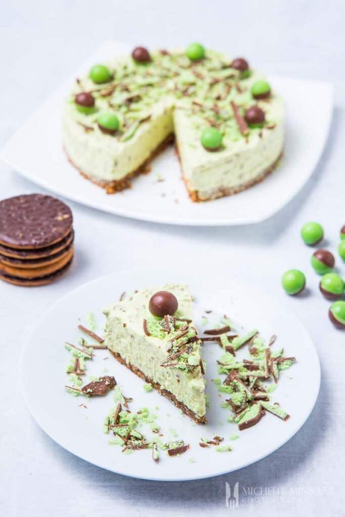 aero mint cheesecake