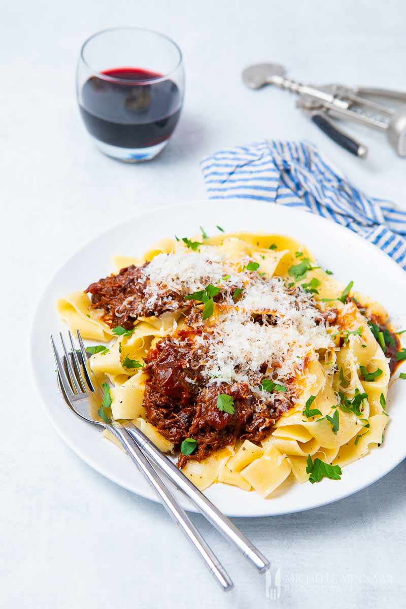 Cheek Ragu Papardelle