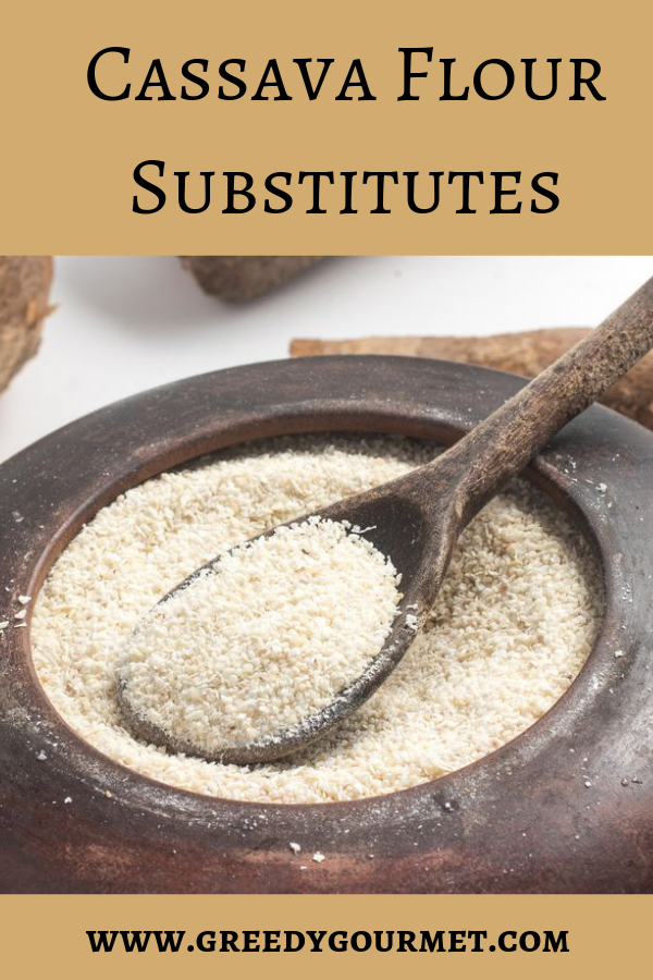 Check out the extensive list of 12 cassava flour substitutes. Some of the alternatives share the gluten-free characteristics of the cassava flour. Pick one!