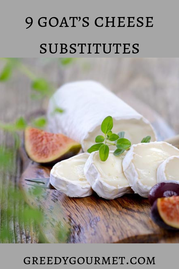 These 9 best goat's cheese substitutes will help you select the best alternative for goat's cheese. Read all about soft and hard goat's cheese substitutes