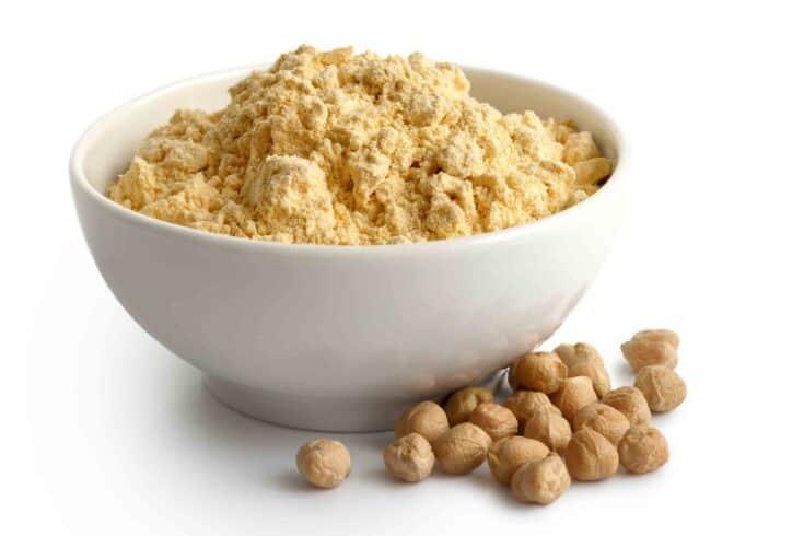 chickpea flour or garbanzo flour