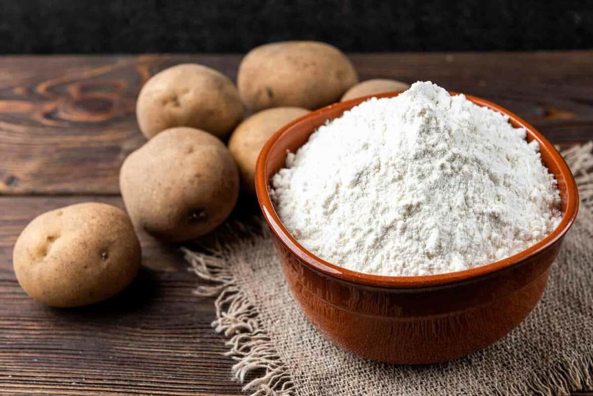 white potato starch