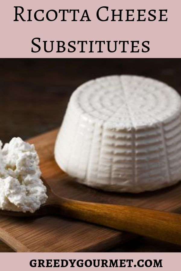 Take a look at this extensive & informative list of 16 ricotta cheese substitutes. You'll find ricotta cheese alternatives for your ricotta cheese recipes.