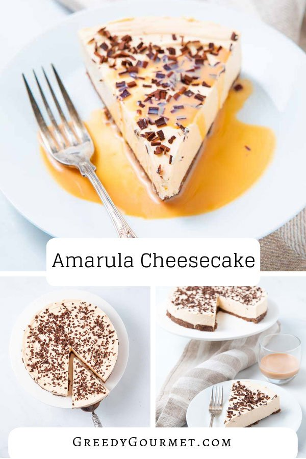 A piece of amarula cheesecake