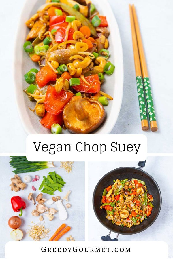 This vegan chop suey dish is the essence of healthy Chinese American cuisine. Read about the different variations (vegan & non-vegan) and make it your own.