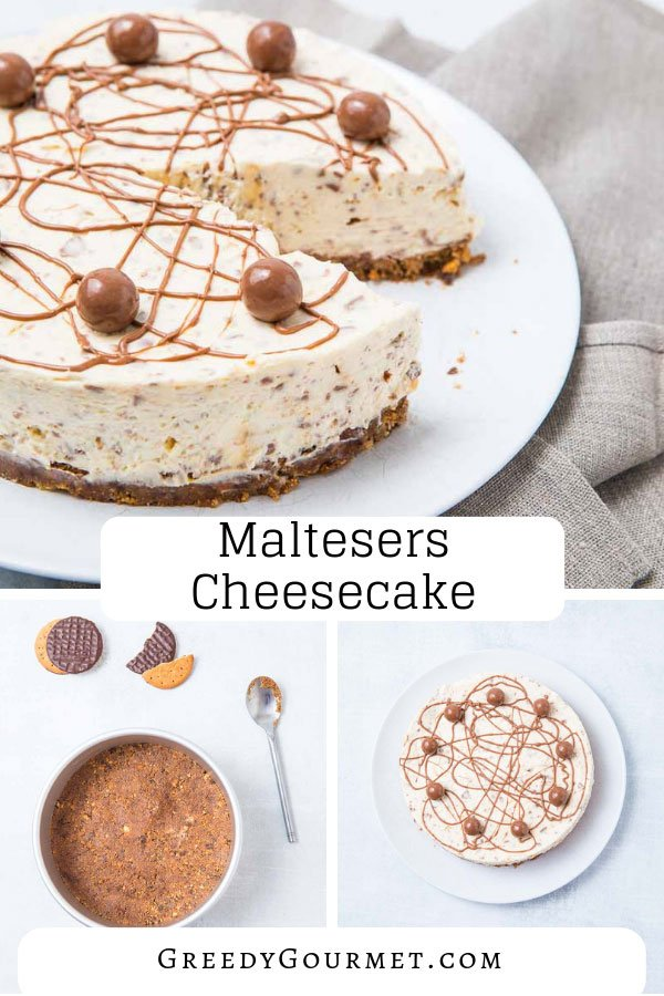 A Maltesers cheesecake