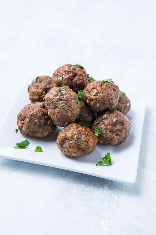 Fryer Meatballs