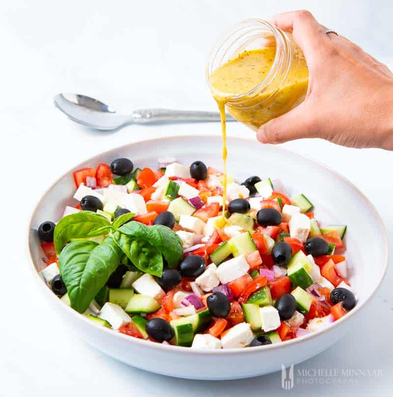 Mediterranean Salad Dressing This Recipe Is Quick And Easy To Prepare
