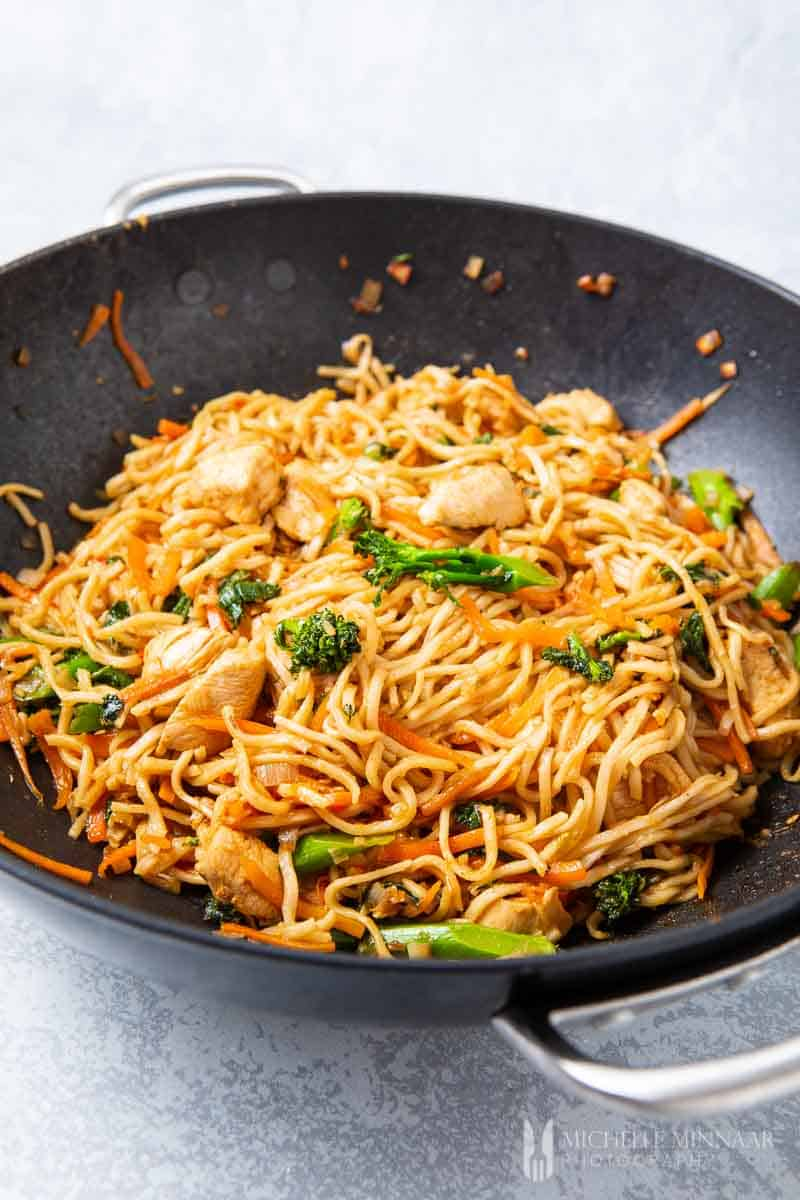 A Spicy Indonesian Fried Noodles Dish You