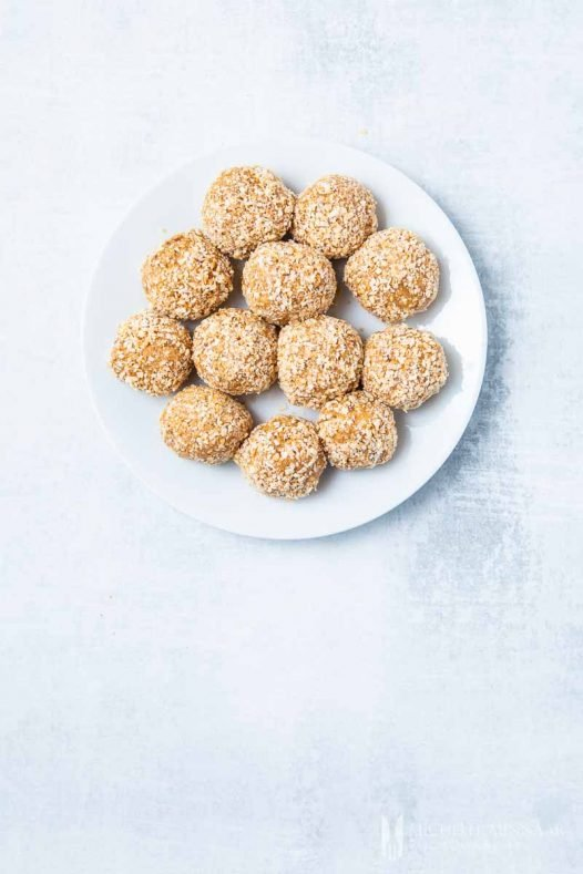 Coconut Balls Peanut Butter