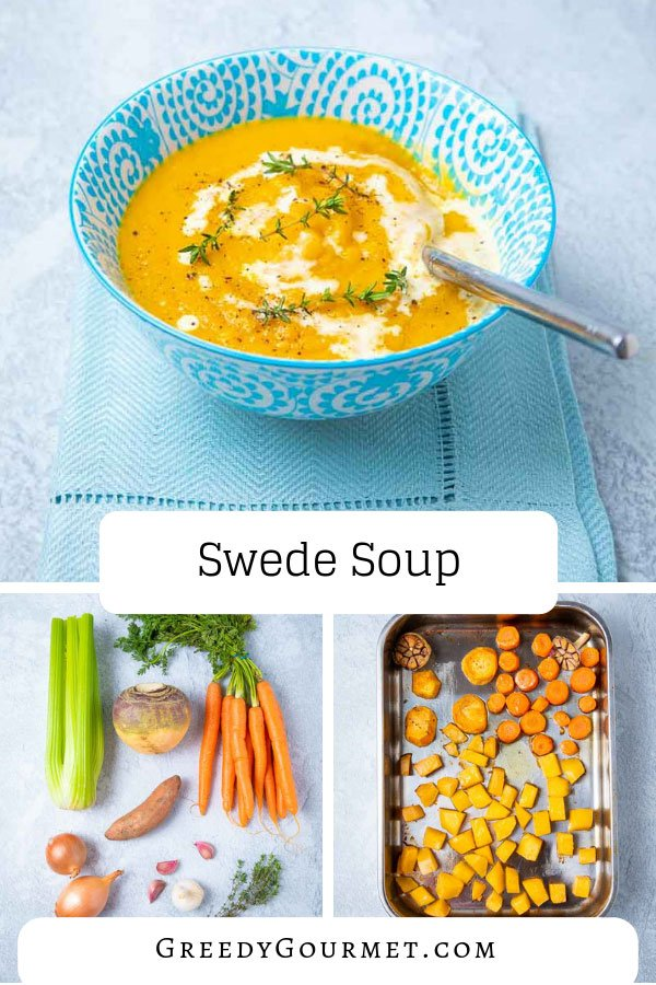 A bowl of swede soup