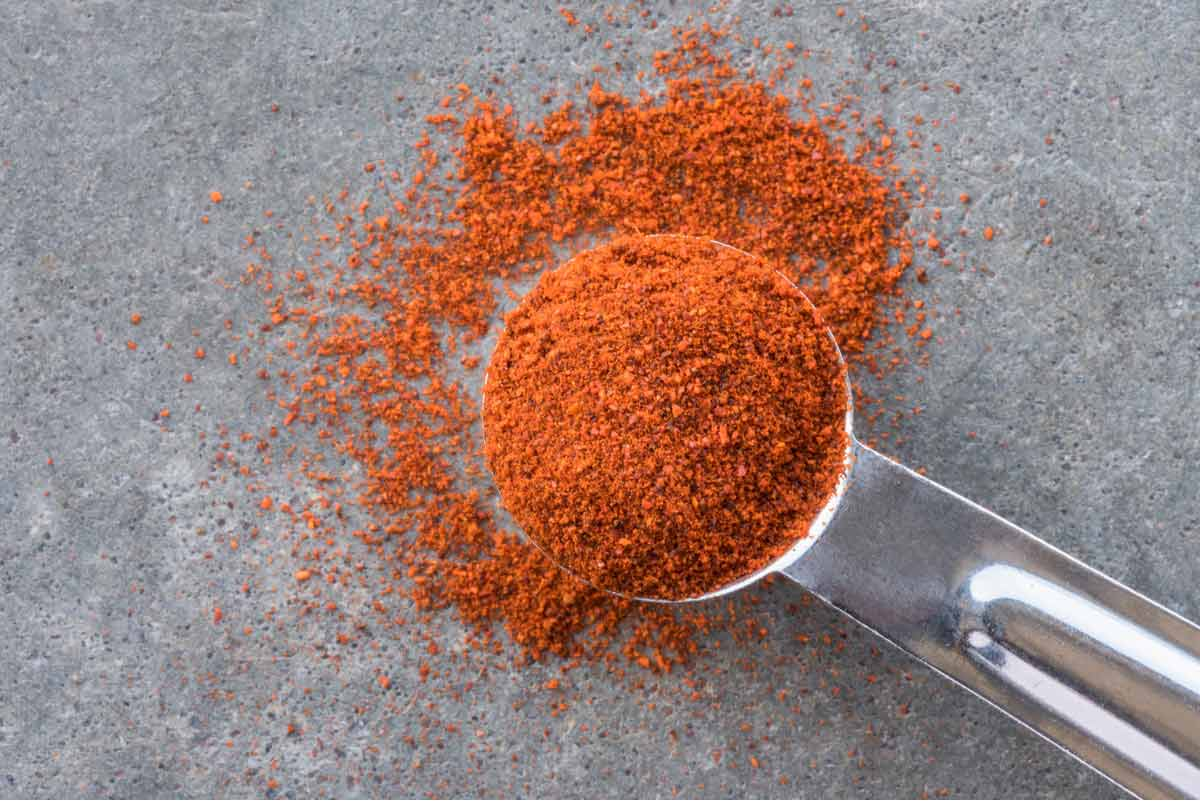 A bowl of chipotle powder
