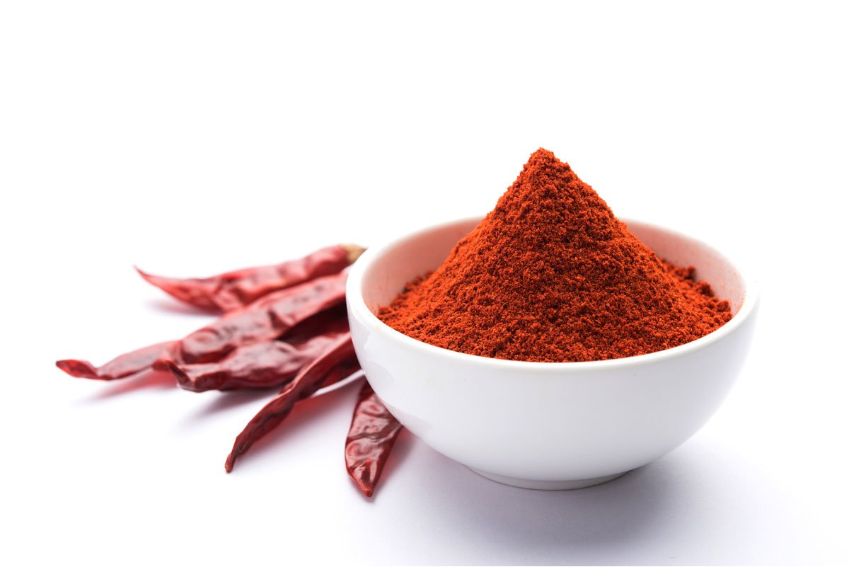 A bowl of paprika powder