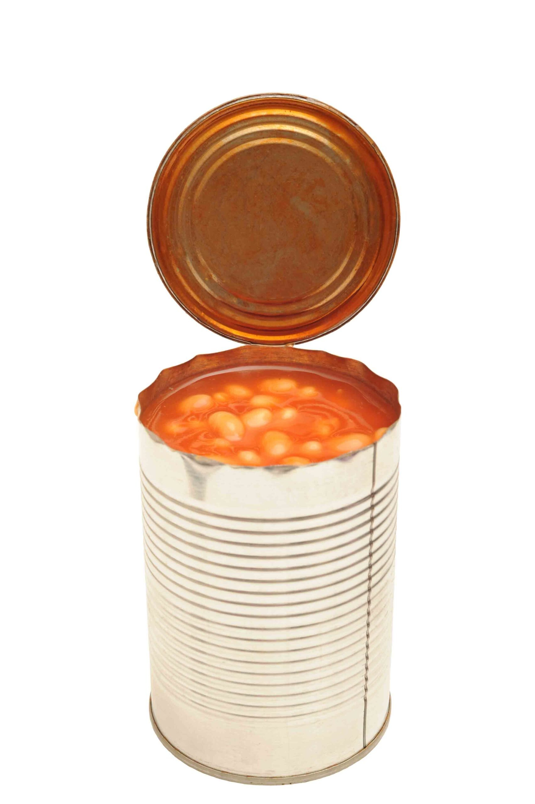 How to freeze baked beans from a can