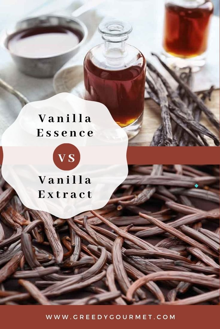 vanilla essence vs vanilla extract