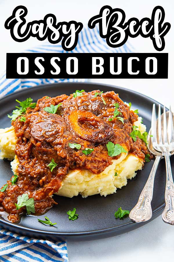 Beef ossobuco is an Italian stew from the region of Lombardy. Prepare yourself for the most tender meat you've ever had using bone marrow. #howtomakeossobuco #bestossobuccorecipe #beefrecipes #ossobucco