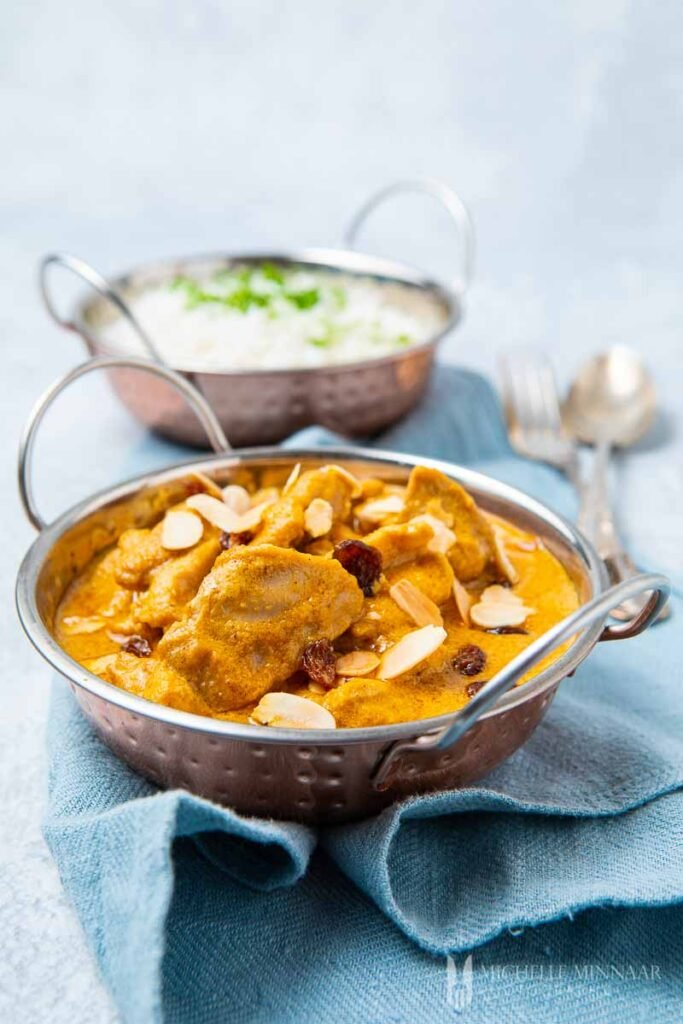 Close up of Indian curry dish