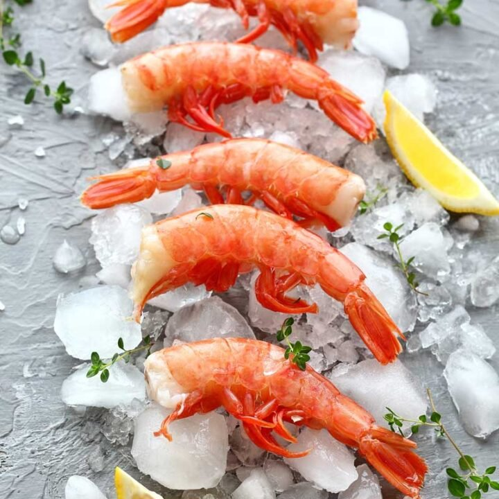 How To Defrost Prawns / Shrimp