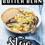 Bowl of Butter Bean Stew