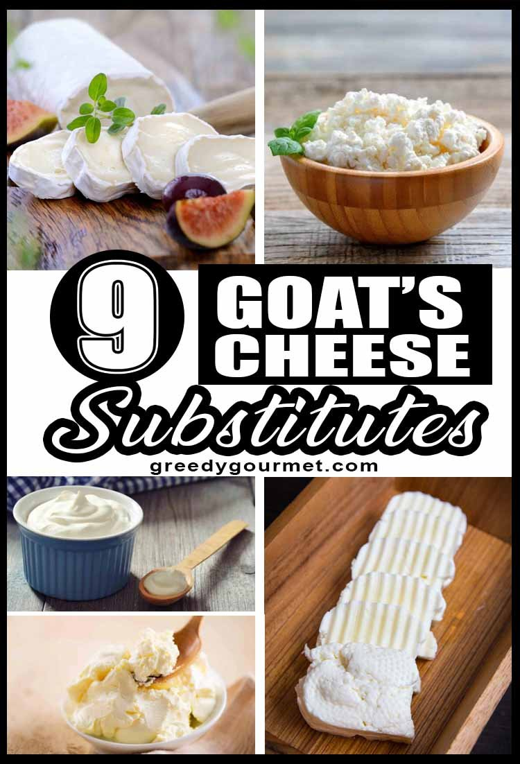 9 Goat's Cheese Substitutes
