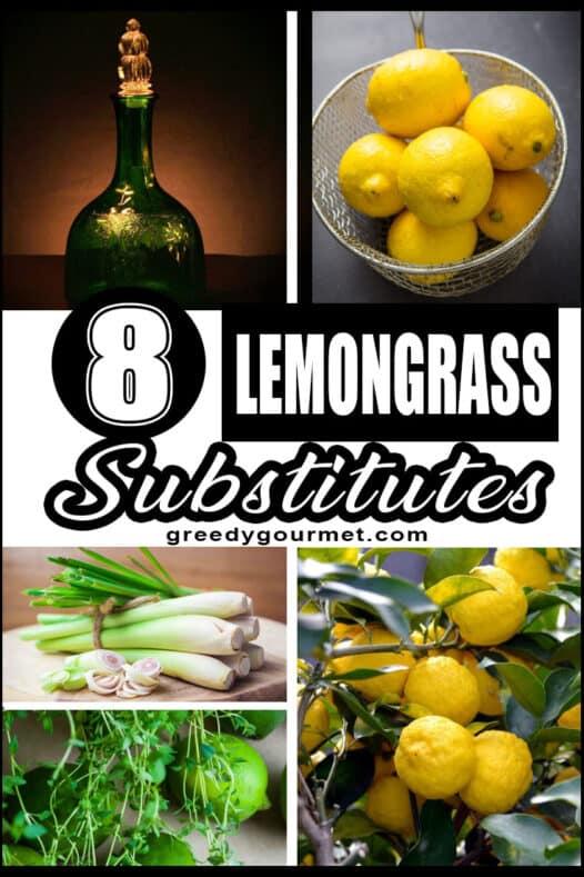 8 Lemongrass Substitutes